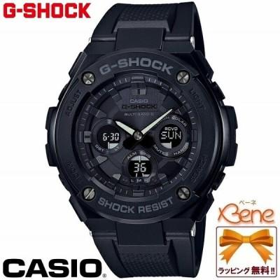 [正規品]CASIO/カシオ G-SHOCK/ジーショック G-STEEL/Gスチール ミドルサイズ マルチバンド6 レイヤーガード構造 アナデジ GST-W300G-1A1JF