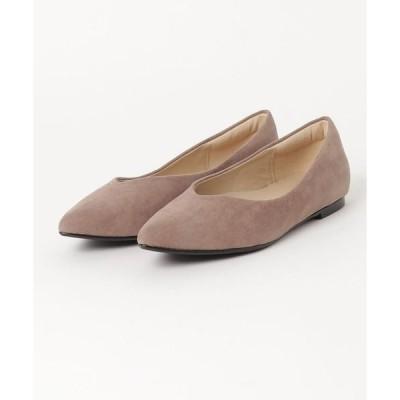 パンプス Flat Python Shoes