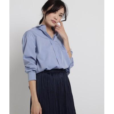 Sofuol(ソフール) 【STORYweb掲載】コットンブロード比翼シャツ