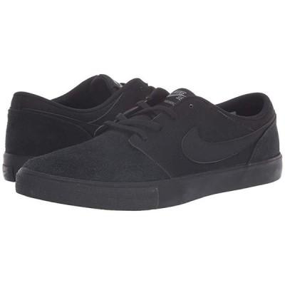 ナイキ Portmore II Solar メンズ スニーカー 靴 シューズ Black/Black