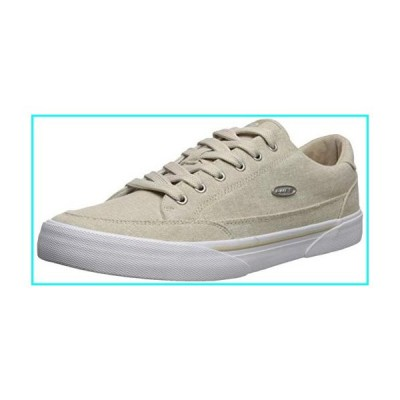 Lugz Men's Stockwell Linen Sneaker Tan/White 10.5 D US