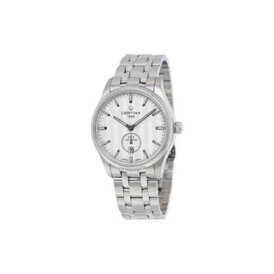 腕時計 サーチナ メンズ Certina DS-4 Silver Dial Automatic Men's Watch C022.428.11.031.00