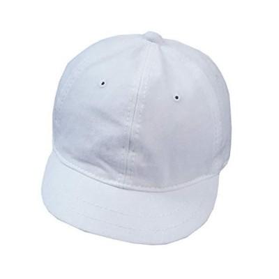 WHITE FANG(ホワイトファング) 帽子 無地 キャップ おしゃれ シンプル かっこいい つば短 メンズ レディース CA257 (0