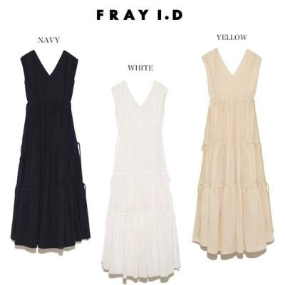 SALE40%OFF FRAY I.D フレイアイディー 通販 ギャザーティアードワンピース fwfo203025 レディーズ ロング ドレス