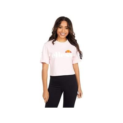 Ellesse Alberta Crop T-Shirt レディース シャツ トップス Light Pink