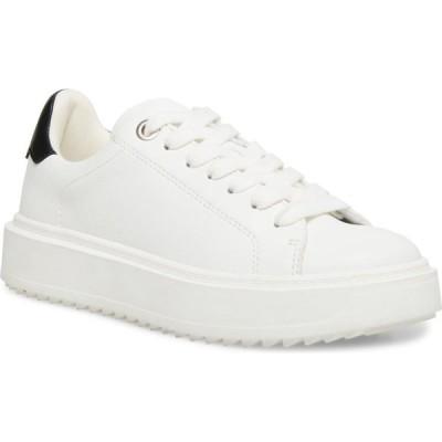 スティーブ マデン STEVE MADDEN レディース スニーカー シューズ・靴 Charlie Platform Sneaker White