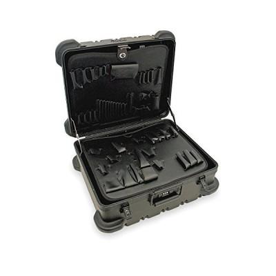 送料無料!Military Type Super-Size Tool Case: 17.5 x 20 x 9.75 Color: Black