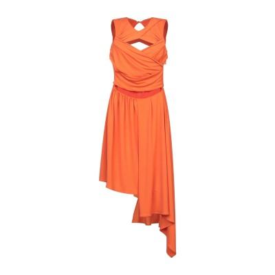 マルコ ボローニャ MARCO BOLOGNA ミニワンピース&ドレス オレンジ 42 ポリエステル 95% / ポリウレタン 5% ミニワンピース