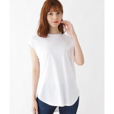 tシャツ Tシャツ 【M-L】バックギャザーデザインプルオーバー