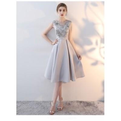 パーティドレス ワンピース カラードレス ノースリーブ セクシー 結婚式 二次会 お呼ばれ成人式 編み上げ フォーマル