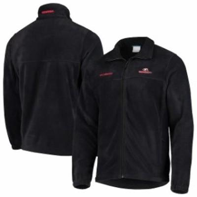 Columbia コロンビア スポーツ用品  Columbia Georgia Bulldogs Charcoal Team Logo Flanker II Full-Zip Fleece Jacket