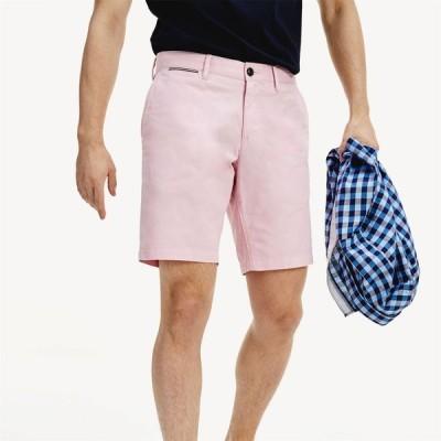 トミー ヒルフィガー Tommy Hilfiger メンズ ショートパンツ ボトムス・パンツ Brooklyn Light Twill Shorts Frosted Rose