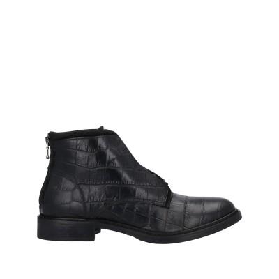 STELE ショートブーツ ブラック 36 革 ショートブーツ