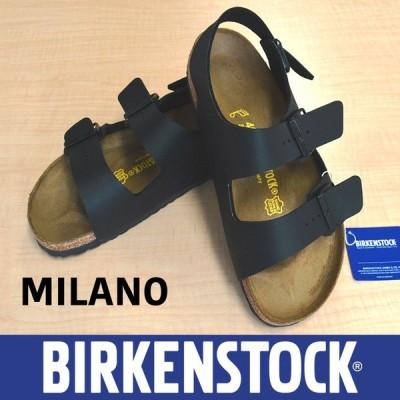 送料無料 BIRKENSTOCK MILANO ビルケンシュトック ミラノ ブラックR N レディース メンズ
