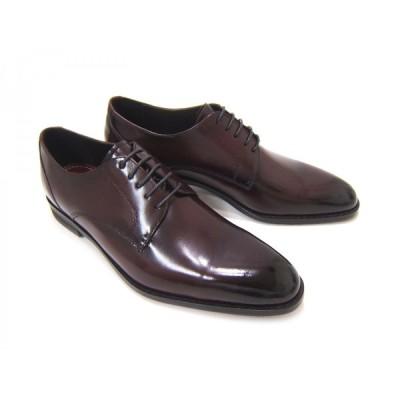 フランコ ルッチ/FRANCO LUZI FL2200-Bordeaux ボルドー 紳士靴 プレーントゥ ビジネス 送料無料
