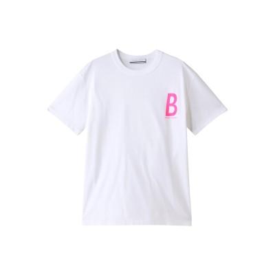BORDERS at BALCONY ボーダーズ アット バルコニー 【UNISEX】ボーダーズTシャツ レディース ピンク M