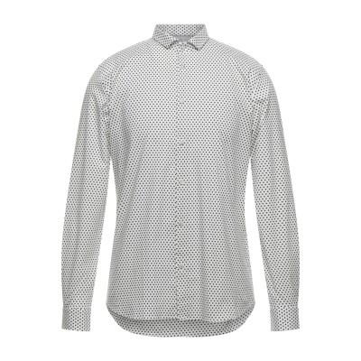 SSEINSE シャツ ホワイト S コットン 97% / ポリウレタン 3% シャツ