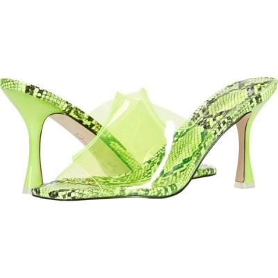 ジェシカシンプソン Jessica Simpson レディース サンダル・ミュール シューズ・靴 Olena Neon Yellow