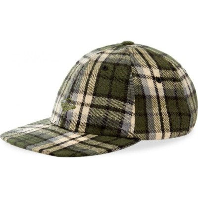 バテンウェア Battenwear メンズ キャップ 帽子 field cap Green Plaid