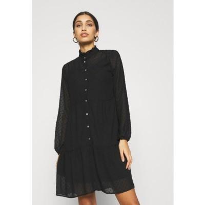 レディース ドレス ONLMILLIE DRESS - Day dress - black