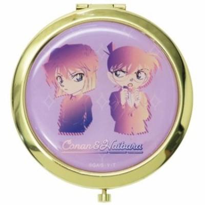 名探偵コナン 手鏡 W コンパクトミラー コナン & 灰原 ルミエシリーズ アニメキャラクター グッズ メール便可