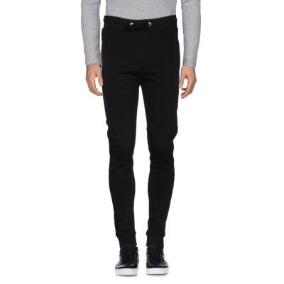 ビッケンバーグ BIKKEMBERGS パンツ ブラック XS コットン 69% / ポリエステル 31% / ポリウレタン パンツ