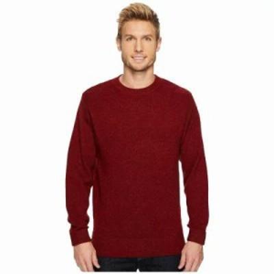 ペンドルトン ニット・セーター Shetland Crew Sweater Scarlet Red
