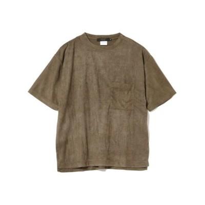 tシャツ Tシャツ BEAMS LIGHTS / フェイクスエード 半袖カットソー