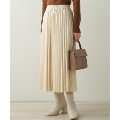 Ray Cassin / エコレザープリーツスカート WOMEN スカート > スカート