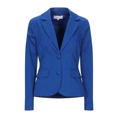 KORALLINE テーラードジャケット ブルー 50 コットン 95% / ポリウレタン 5% テーラードジャケット