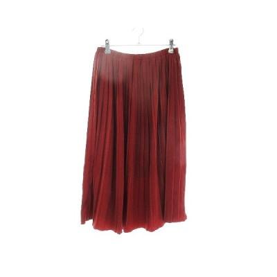 【中古】シュガーローズ Sugar Rose スカート フレア ロング 無地 F 赤 レッド /CK レディース 【ベクトル 古着】