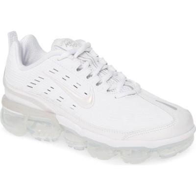 ナイキ NIKE レディース スニーカー シューズ・靴 Air VaporMax 360 Sneaker White/White/Black
