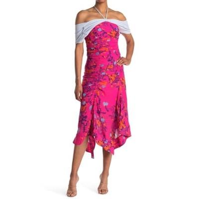 タニアテイラー レディース ワンピース トップス Falling Floral Virginia Dress BRIGHT PINK