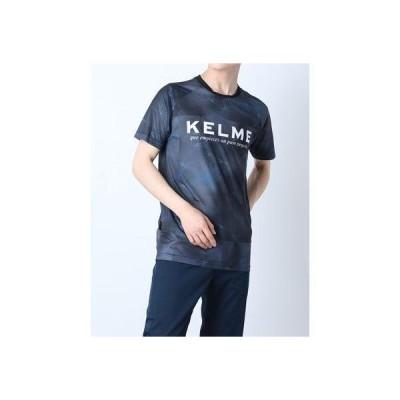 ケレメ KELME メンズ サッカー/フットサル 半袖シャツ プラクティスシャツ KA21S646 (ブラック)
