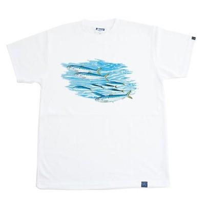 魚Tシャツ イワシ <ドライメッシュTシャツ>
