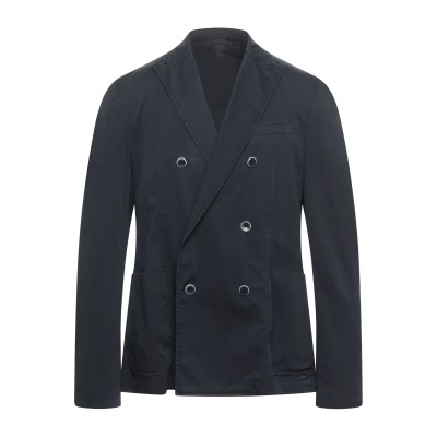 TREND CORNELIANI テーラードジャケット ダークブルー 54 コットン 97% / ポリウレタン 3% テーラードジャケット