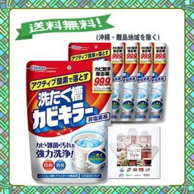 【まとめ買い】 カビキラー 洗たく槽クリーナー アクティブ酸素で落とす洗たく槽カビキラー 酸素系粉末タイプ 5個セット 250g×5個 お