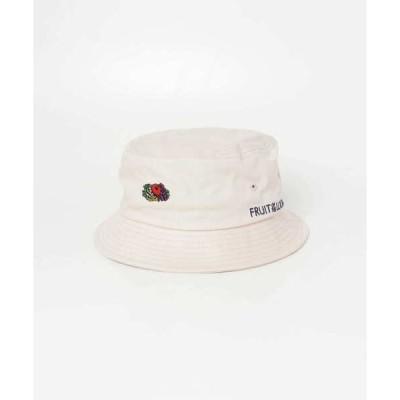 帽子 ハット 【WEB限定】FRUIT OF THE LOOM バケットハット