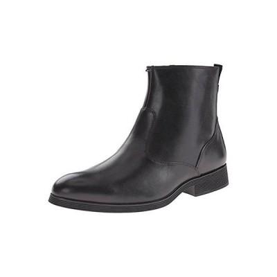 クラークス ブーツ Clarks Gabwell ジップ メンズ ブーツ Black Leather