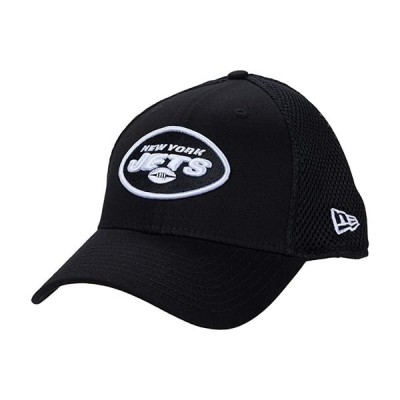 ニューエラ NFL Stretch Fit Neo 3930 -- New York Jets メンズ 帽子 Black