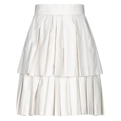 COMPAGNIA ITALIANA ひざ丈スカート ベージュ 42 コットン 100% ひざ丈スカート