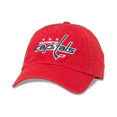 American Needle ブルライン NHL チムダッドハット ワシントン・キャピタルズ レッド (40742A-WAC)