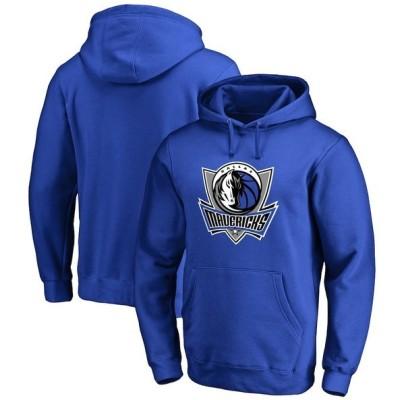 ファナティクス パーカー・スウェットシャツ アウター メンズ Dallas Mavericks Fanatics Branded Big & Tall Primary Logo Pullover Hoodie Blue