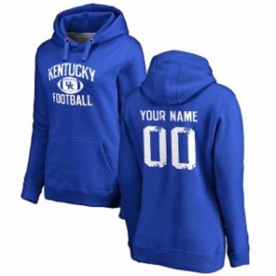 Fanatics Branded ファナティクス ブランド スポーツ用品  Kentucky Wildcats Womens Royal Blue Personalized Distres
