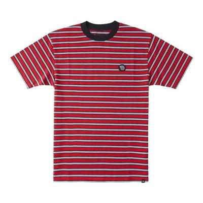 ディーシーシューズ DC SHOES  MATCHSTICK STRIPE TEE Mens T-shirts