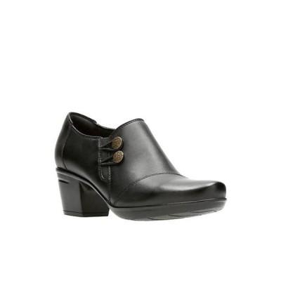 クラークス レディース パンプス シューズ Emslie Warren Black Shoes
