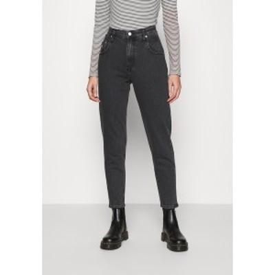 カルバンクライン レディース デニムパンツ ボトムス MOM - Relaxed fit jeans - denim black denim black