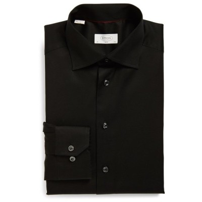 エトン メンズ シャツ トップス Eton Slim Fit Twill Dress Shirt