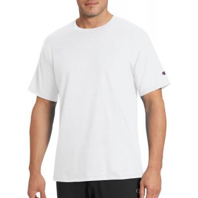 チャンピオン Champion メンズ Tシャツ 大きいサイズ トップス Classic Jersey 2.0 T-Shirt (Regular and Big & Tall) White