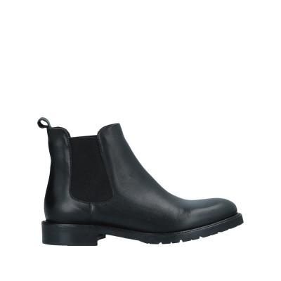 O'DAN LI ショートブーツ ブラック 36 牛革(カーフ) ショートブーツ